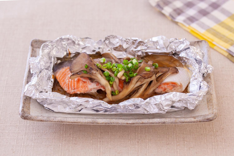焼き 塩鮭 ホイル